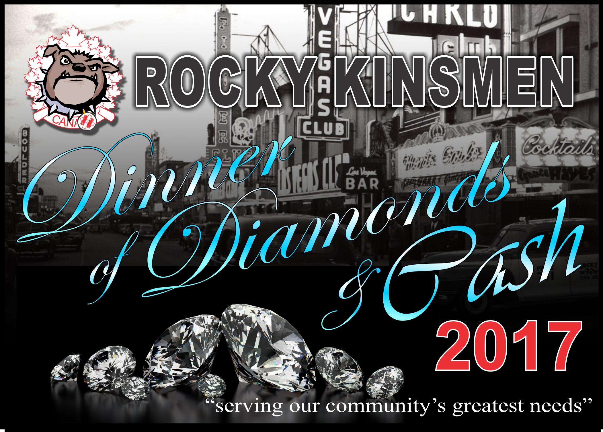 2017 Dinner, Diamonds & Cash