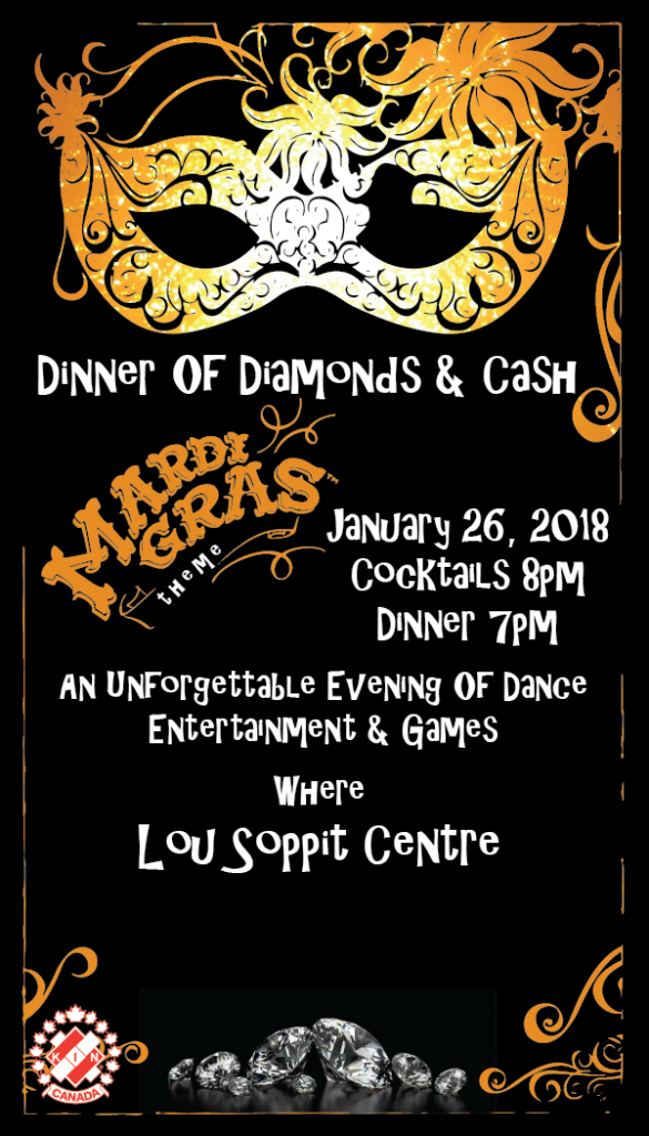 2018 Dinner Of Diamonds-Rocky Mountain House Kinsmen